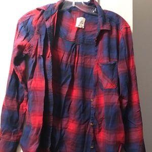 AE Cotton Plaid Shirt